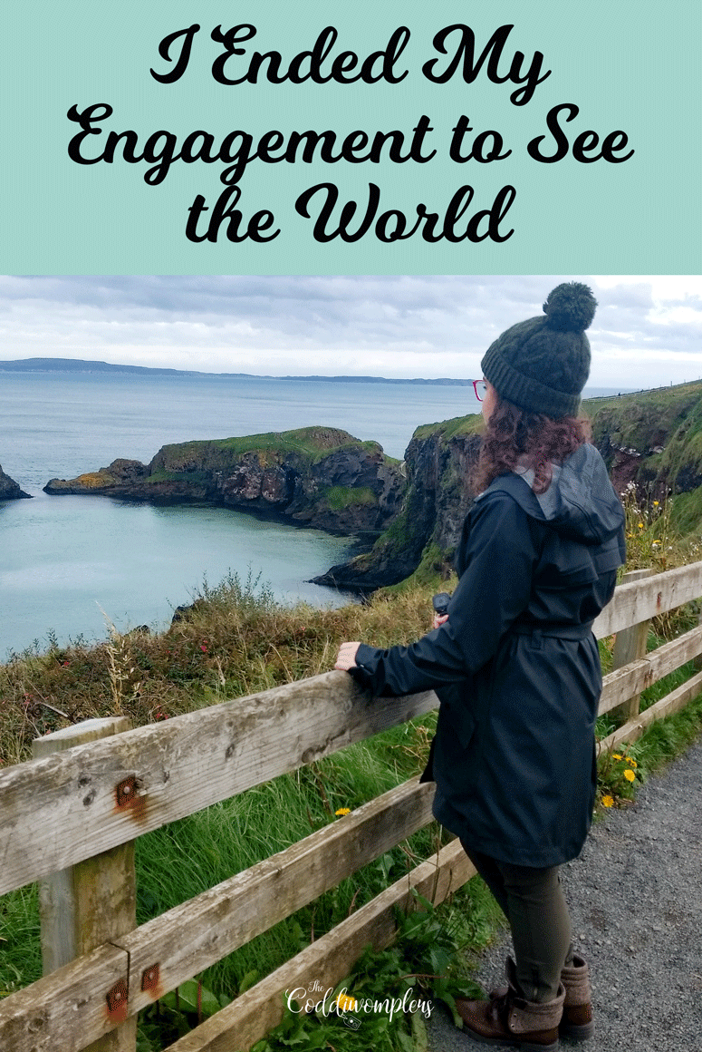 In one of the boldest decisions of my life, I ended my engagement in order to travel the world freely and chase my happiness. Here's the whole story.